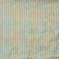 Blue/Yellow/White Plaid Decorator Fabric by Kravet