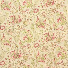 Red/Green Decorator Fabric by Lee Jofa