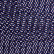 Blue/Yellow/Gold Diamond Decorator Fabric by Kravet