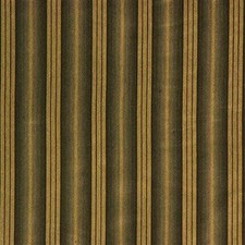 Green/Yellow Stripes Decorator Fabric by Kravet