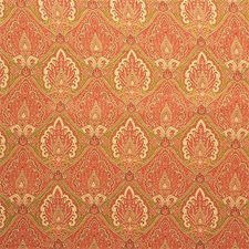 Persimmon Paisley Decorator Fabric by Kravet