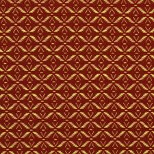 Ruby Red Small Scale Woven Decorator Fabric by Fabricut