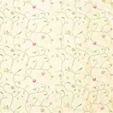 Yellow/Pink/Multi Botanical Decorator Fabric by Kravet