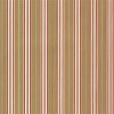 Light Green/Pink/Beige Stripes Decorator Fabric by Kravet