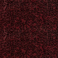 Modern Red Contemporary Decorator Fabric by S. Harris