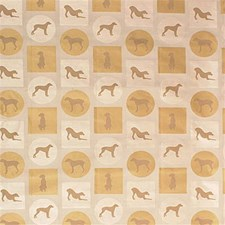 Beige/Yellow Animal Decorator Fabric by Kravet