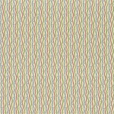 Yellow/Pink/Blue Stripes Decorator Fabric by Kravet