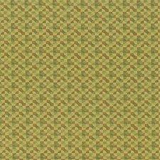 Green/Light Green/Yellow Modern Decorator Fabric by Kravet
