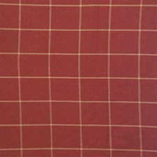Burgundy/Red/Yellow Plaid Decorator Fabric by Kravet