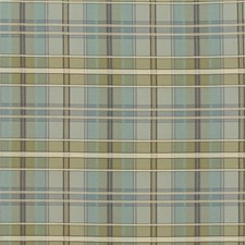 Green/Blue/Beige Plaid Decorator Fabric by Kravet