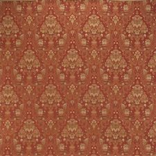 Burgundy/Red/Rust Damask Decorator Fabric by Kravet