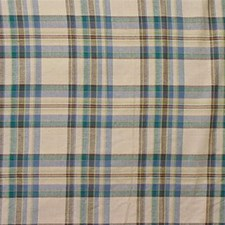 Beige/Blue/Green Plaid Decorator Fabric by Kravet