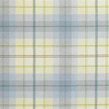 Yellow/Light Blue/Green Plaid Decorator Fabric by Kravet