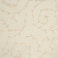 Parchment Embroidery Decorator Fabric by Fabricut