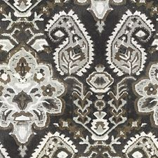 Smoke Jacquard Velvet Decorator Fabric by Scalamandre