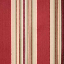 Burgundy/Red/Beige Stripes Decorator Fabric by Kravet