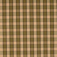 Green/Brown/Light Yellow Decorator Fabric by Kravet