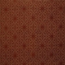 Beige/Burgundy/Red Bargellos Decorator Fabric by Kravet