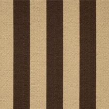 Brown/Beige Stripes Decorator Fabric by Kravet