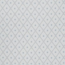 Bleu Small Scale Woven Decorator Fabric by Fabricut