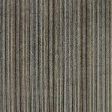 Blue/Brown Stripes Decorator Fabric by Kravet