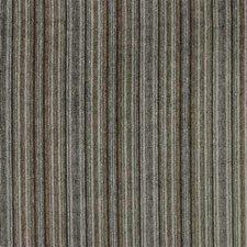 Blue/Brown Stripes Decorator Fabric by Kravet