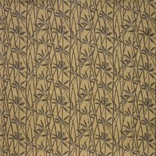 Yellow/Brown Botanical Decorator Fabric by Kravet