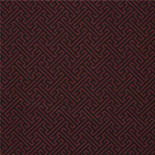 Burgundy/Red/Black Contemporary Decorator Fabric by Kravet