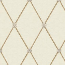 Beige/Yellow Diamond Decorator Fabric by Kravet
