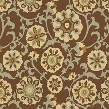 Bronze Botanical Decorator Fabric by Kravet