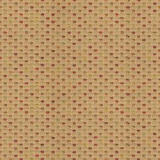 Yellow/Burgundy/Red Small Scales Decorator Fabric by Kravet