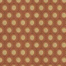 Orange/Yellow Small Scales Decorator Fabric by Kravet