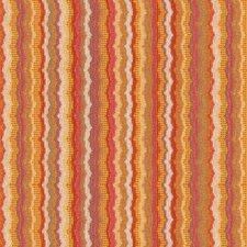 Yellow/Pink/Orange Stripes Decorator Fabric by Kravet