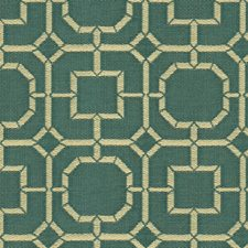 Blue/Beige Solid W Decorator Fabric by Kravet