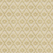 White/Beige Diamond Decorator Fabric by Kravet