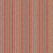 Pink/Blue/White Stripes Decorator Fabric by Kravet
