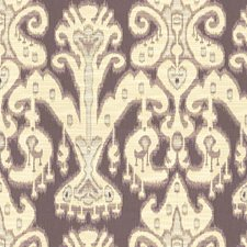 Beige/Purple Ethnic Decorator Fabric by Kravet