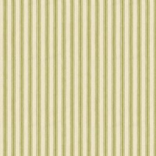 Green/Beige Stripes Decorator Fabric by Kravet