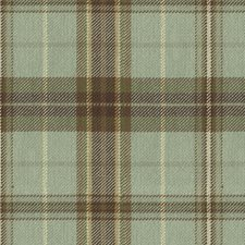 Blue/Beige Plaid Decorator Fabric by Kravet