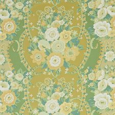 Natural Glazes Floral Decorator Fabric by Fabricut