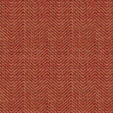 Yellow/Burgundy/Red Tweed Decorator Fabric by Kravet
