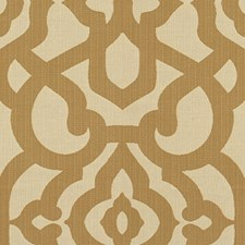 Gold Damask Decorator Fabric by Kravet
