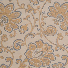 Slate Floral Decorator Fabric by Fabricut