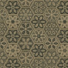 Pewter Ethnic Decorator Fabric by Kravet