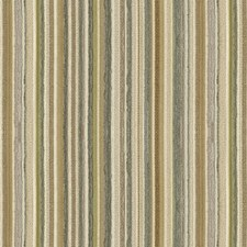 Beige/Grey/Green Stripes Decorator Fabric by Kravet