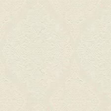 White Damask Decorator Fabric by Kravet