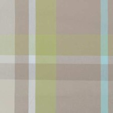 Aqua/Green Plaid Decorator Fabric by Duralee