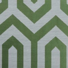 Green Geometric Decorator Fabric by Duralee