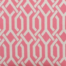 Bubblegum Geometric Decorator Fabric by Duralee