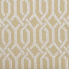 Champagne Geometric Decorator Fabric by Duralee